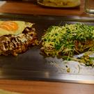 Okonomiyaki - japońskie naleśniki - pycha!
