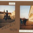 Hofburg - dawny cesarski pałac zimowy wybudowany w XIIIw. (później przebudowywany). Siedziba władców Austrii od Rudolfa I Habsburga aż po Karola I (do 1918r).